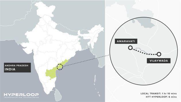 インドで初のハイパーループ建設計画、実用化路線になる可能性も