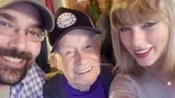 「大好きなテイラー・スウィフトが来るなんて」96歳のおじいちゃんが涙を流して大喜び