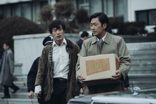 ハ・ジョンウが演じるソウル地検検事ほか、多くの人物が良心と葛藤する姿が描かれる