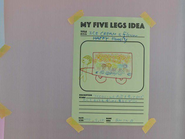 北澤潤「FIVE LEGS