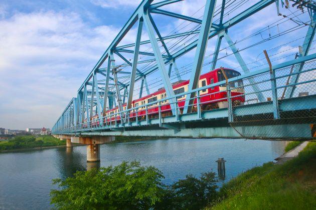 京急の赤い電車