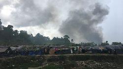 ビルマ:国軍、国境付近の住宅を焼き討ち