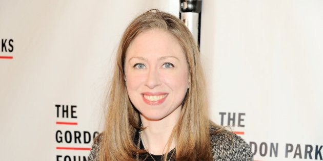 NEW YORK, NY - JUNE 06: Chelsea Clinton attends the Gordon Parks Foundation Awards Dinner & Auction at...