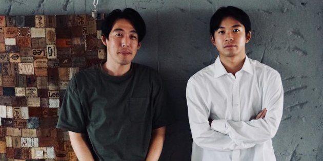 石川慶監督(左)&主演の太賀(右)