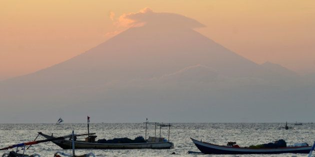 アグン山(September 21,