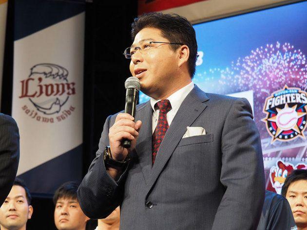 解説を務めたヤクルトスワローズの前監督、真中満氏