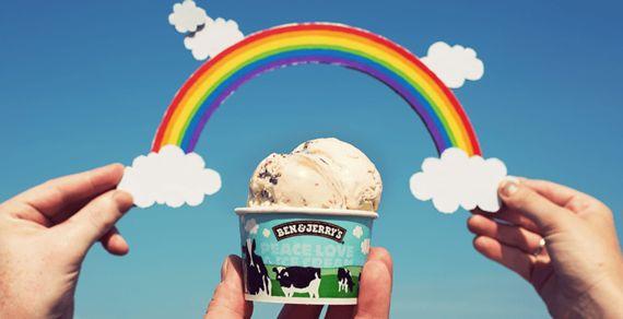 世界的アイス屋さんBen & Jerry's
