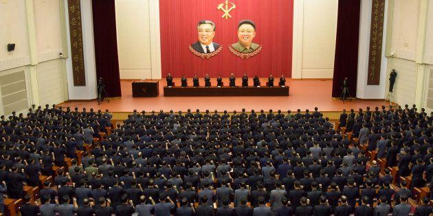 北朝鮮の朝鮮労働党・中央委員会本部が9月22日に開いた反米の総決起集会