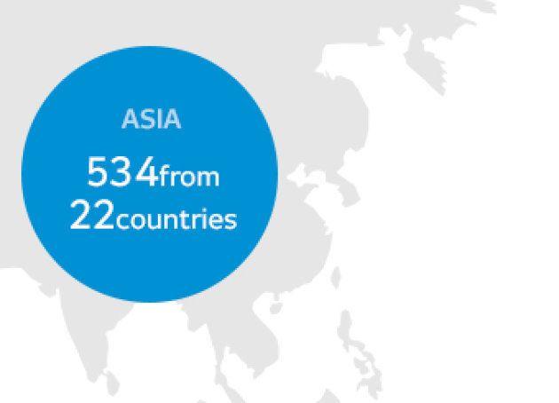 世界地図から日本列島をカット 平昌オリンピック公式サイト