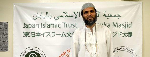 「日本イスラーム文化センター」のクレイシ・ハールーンさん