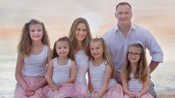 「娘ばかりで可哀想」と言わないで。私たちは女の子4人を心から愛している