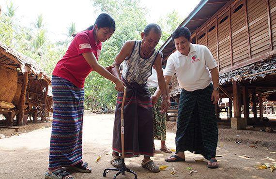 ミャンマー:誰もが安心して暮らせる村を目指して