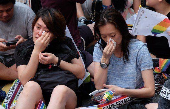 同性婚、アジアで初めて容認へ 台湾司法院「認めないのは憲法違反」