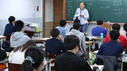 10連休に、ひとり勉強する学生たち 韓国の予備校街から
