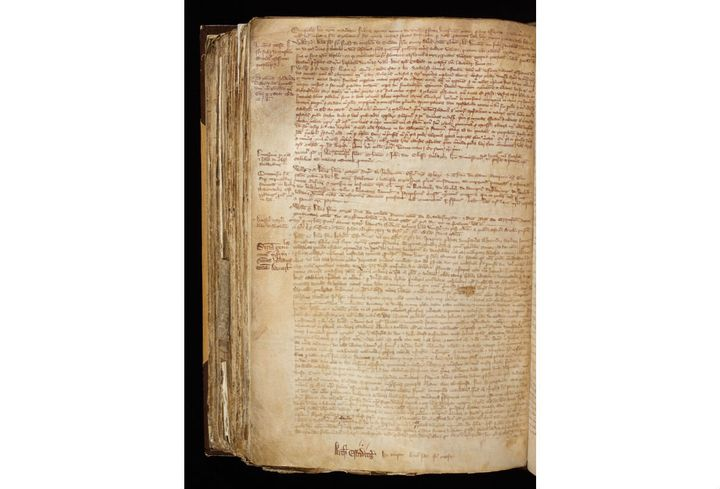 An entry in Archbishop William Melton's record book for 1318 tells the story of Joan of Leeds.