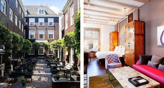 アムステルダムで泊まりたい、注目の個性派ホテル10選