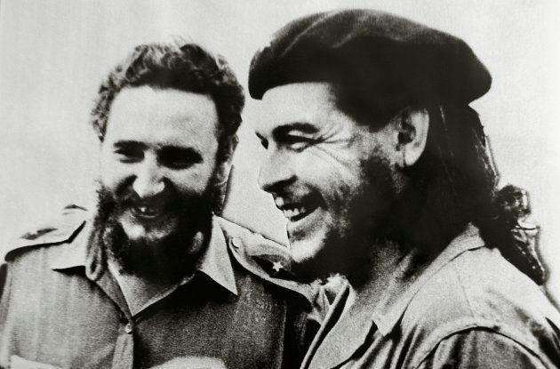 チェ・ゲバラとフィデル・カストロ。
