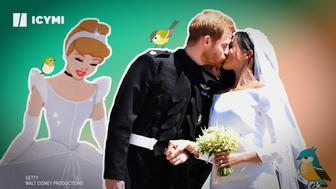 How fairy tales impact weddings today, from Cinderella to Meghan Markle.