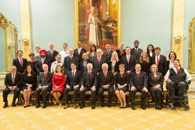 2015年の組閣の顔ぶれ