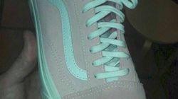 「ピンクと白」それとも「グレーと緑」?