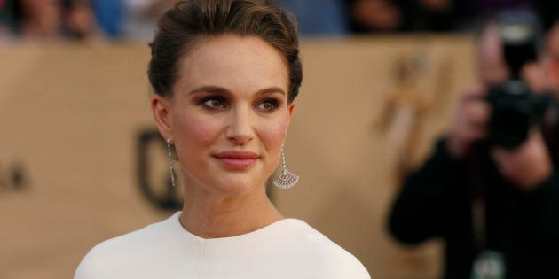 Actress Natalie Portman arrives at the 23rd Screen Actors Guild Awards in Los Angeles, California, U.S.,...