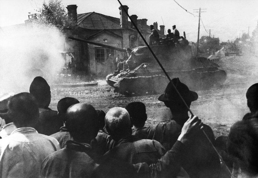 満州でのソビエト軍(1945年)