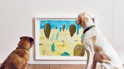 世界初、犬のための展覧会が開かれる。わんこはアートを理解したの?(画像集)