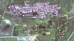 ビルマ:衛星写真、大量破壊を確認