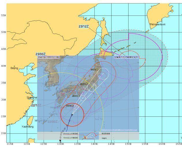 台風21号、海外で「スーパータイフーン」と報じられる
