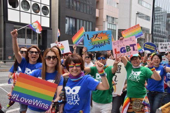 差別がないと笑顔になれる。渋谷を虹色にしたレインボーパレード、過去最高の人たちが参加したよ(画像集)