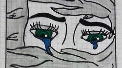 「ドイツに残りたい」イラクから逃れた16歳少女が描いた涙