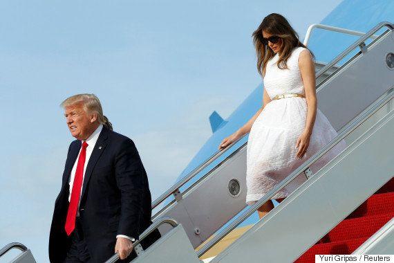 妻を置き去りにするトランプ大統領って、どうなの?