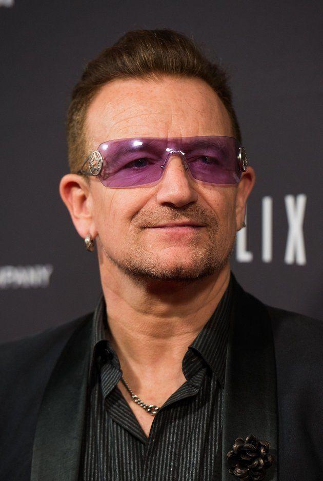 「U2」ボノさん(2014年撮影)