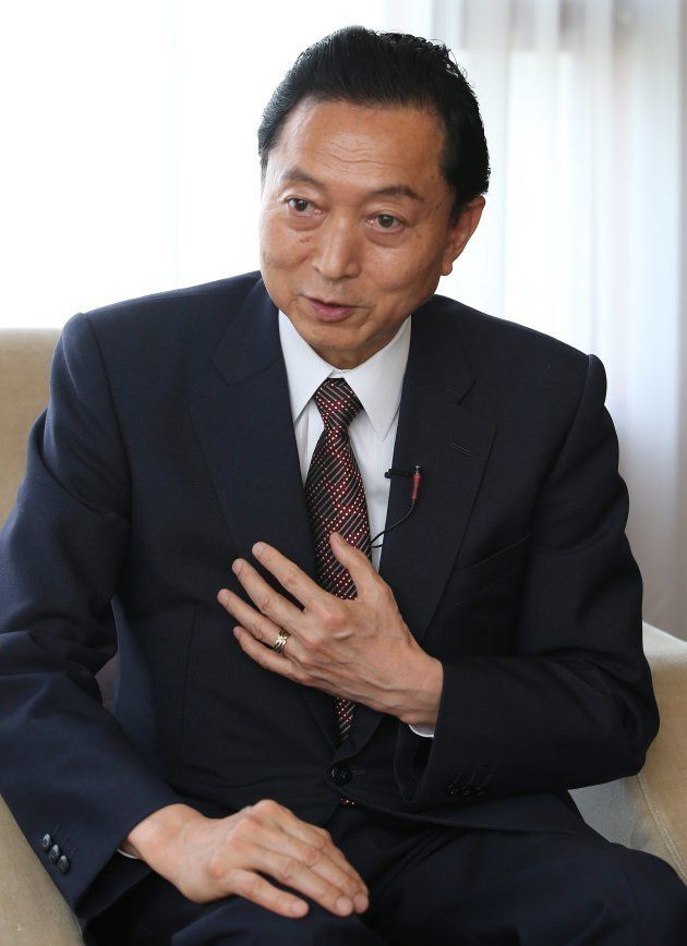 鳩山由紀夫氏(2015年撮影)