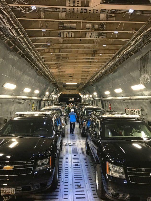 大統領専用車「ビースト」はこうやって運ばれてきた