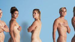「体に自信をもって」女子ラグビー選手は、一糸まとわぬ姿で伝える