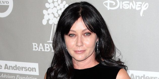 CULVER CITY, CA - NOVEMBER 14: Actress Shannen Doherty attends the 2015 Baby2Baby Gala presented by MarulaOil...
