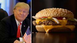 マクドナルドそっくりの料理を出せ。トランプ大統領、ホワイトハウスのシェフに要請
