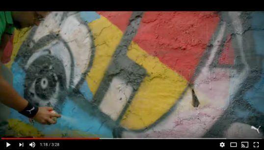 プーマのPR動画、インドの歴史的な建造物に落書き?⇒「すぐ直します」