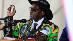 ムガベ大統領の『俺様スーツ』、関心を集める