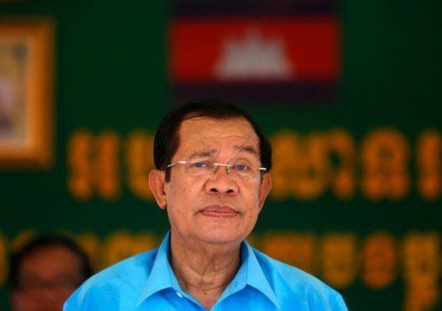 カンボジアのフン・セン首相
