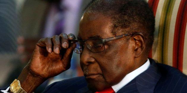 ジンバブエのムガベ大統領