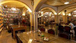 5万冊の本に囲まれ夢の中へ。本好きにとって極上のホテル(画像)