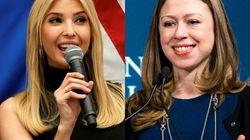 トランプ、クリントン両氏の娘は立ち上がった。オバマ氏の娘を救うために
