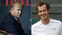 トランプ大統領「TIMEの今年の人、辞退する」→アンディ・マレーが容赦なくパクって「完璧なジョーク」になる