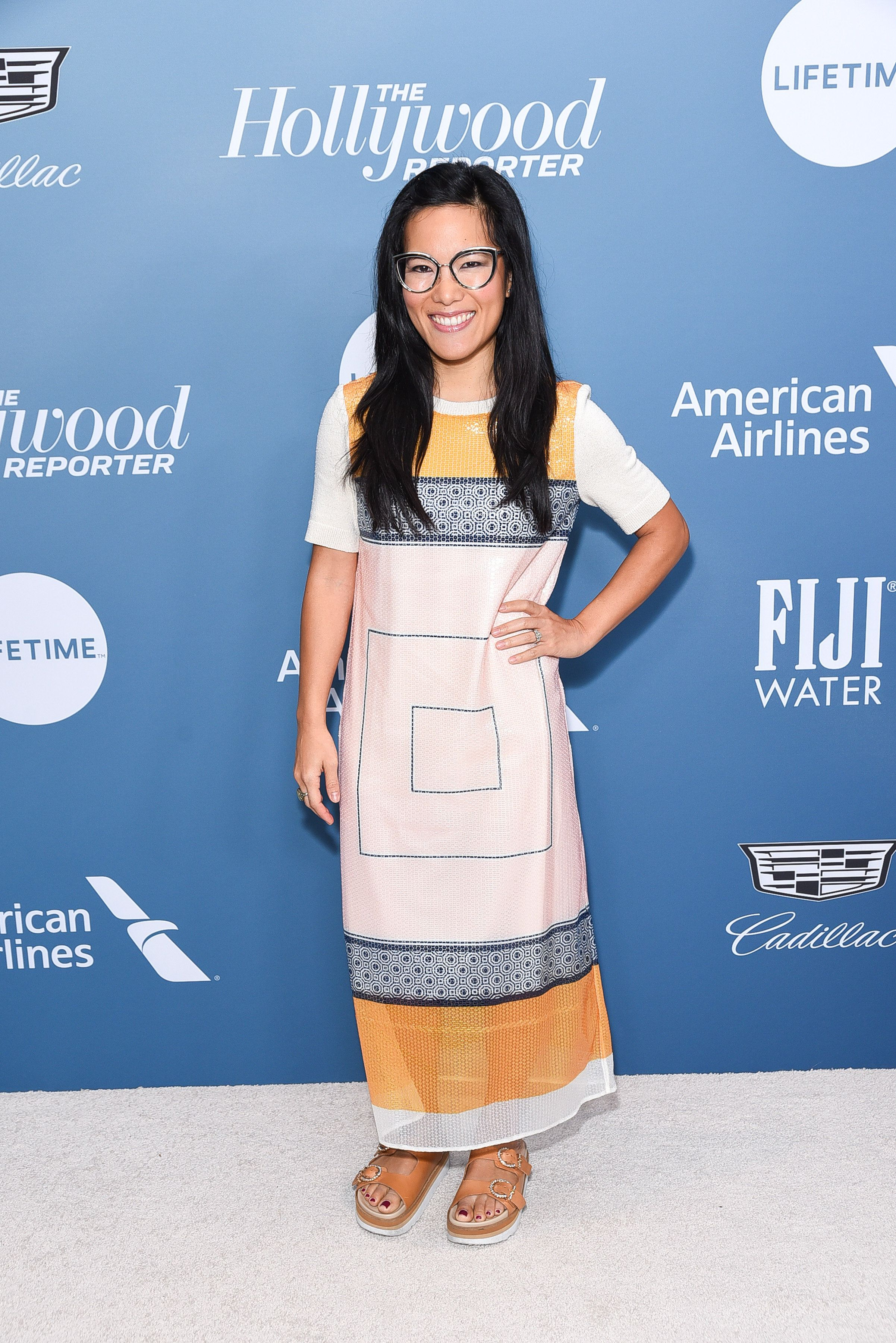 LOS ANGELES, CALIFORNIA - DECEMBER 05: Ali Wong attends The Hollywood Reporter's Power 100 Women In Entertainment at Milk Studios on December 05, 2018 in Los Angeles, California. (Photo by Presley Ann/Getty Images)
