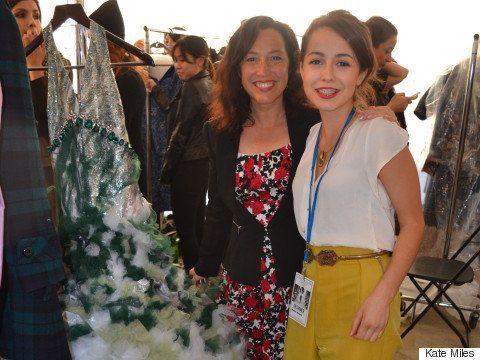 農場で生まれ育った高校生、ファッションデザイナーの才能が開花「馬を売ってショーに参加しました」(画像)
