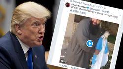 トランプ大統領が英極右団体のヘイト動画を拡散 イギリス政府「大統領として間違っている」と非難