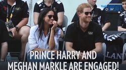 ヘンリー王子とメーガン・マークルの婚約発表に、豪華セレブから祝福コメント相次ぐ