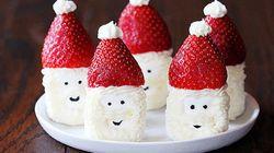 イチゴで可愛く作っちゃおう。4つのクリスマス・スイーツ